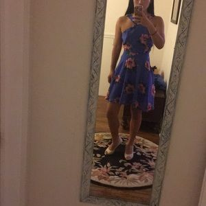 Blue floral dress from Charlotte Russe. Size small